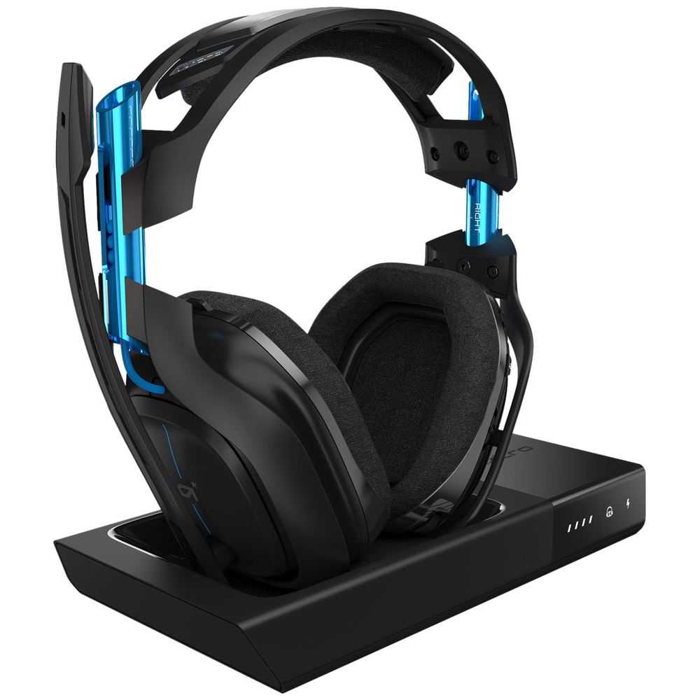 A large main feature product image of Astro Gaming A50 Wireless + Base Station for PlayStation 4/PC