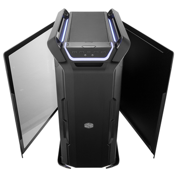 Product image of Cooler Master Cosmos C700P RGB Full Tower Case w/Tempered Glass Side Panel - Black Edition - Click for product page of Cooler Master Cosmos C700P RGB Full Tower Case w/Tempered Glass Side Panel - Black Edition