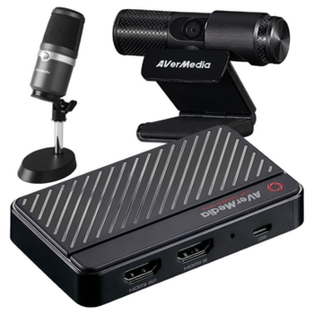 Product image of AVerMedia Live Streamer BO311 Streaming Kit - Click for product page of AVerMedia Live Streamer BO311 Streaming Kit