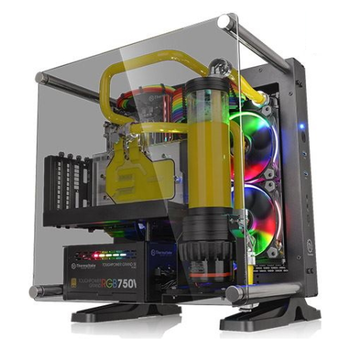 Product image of Thermaltake Core P1 TG Open Frame mITX Case - Click for product page of Thermaltake Core P1 TG Open Frame mITX Case