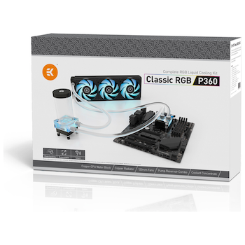 Product image of EK Classic RGB P360 Water Cooling Kit - Click for product page of EK Classic RGB P360 Water Cooling Kit