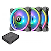 A product image of Thermaltake Riing Trio 12 LED RGB Radiator Fan TT Premium Edition (3-Fan Pack)