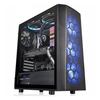 A product image of Thermaltake Versa J24 Tempered Glass RGB Mid Tower Case