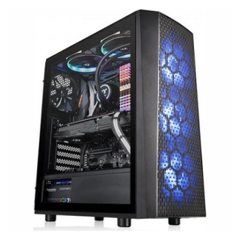 Product image of Thermaltake Versa J24 Tempered Glass RGB Mid Tower Case - Click for product page of Thermaltake Versa J24 Tempered Glass RGB Mid Tower Case