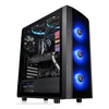 A product image of Thermaltake Versa J25 Tempered Glass RGB Mid Tower