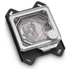A product image of EK Quantum Velocity Addressable D-RGB AMD Nickel Plexi CPU Waterblock