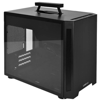 Product image of Lian-Li PC-TU150 Mini ITX Case w/Tempered Glass Side Panel - Black - Click for product page of Lian-Li PC-TU150 Mini ITX Case w/Tempered Glass Side Panel - Black