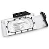 A product image of EK Vector RTX RE TI RGB Nickel/Plexi Waterblock
