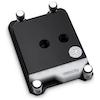A product image of EK Velocity TR4/TRX4 D-RGB Nickel/Acetal CPU Waterblock