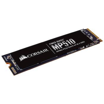 Product image of Corsair Force MP510 960GB M.2 NVMe PCIe Gen 3 SSD - Click for product page of Corsair Force MP510 960GB M.2 NVMe PCIe Gen 3 SSD