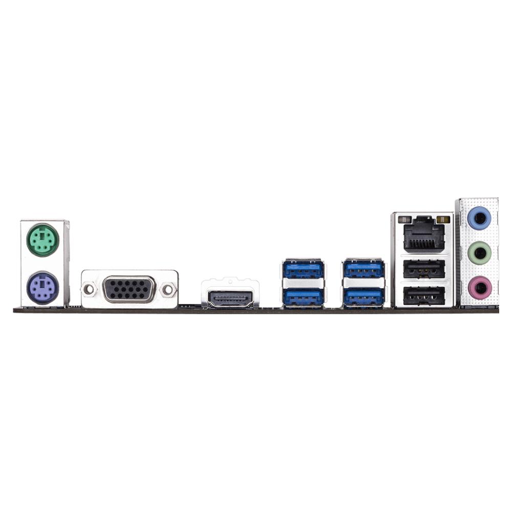 A large main feature product image of Gigabyte B365M H LGA1151-CL mATX Desktop Motherboard