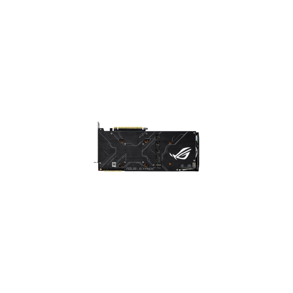 A large main feature product image of ASUS GeForce RTX2080 Super ROG Strix OC 8GB GDDR6