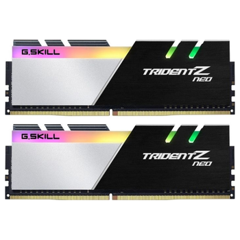 Product image of G.Skill 16GB Kit (2x8GB) DDR4 Trident Z RGB Neo C16 3200Mhz - Click for product page of G.Skill 16GB Kit (2x8GB) DDR4 Trident Z RGB Neo C16 3200Mhz