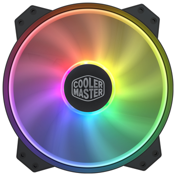 Product image of Cooler Master MF200R 200mm Addressable RGB Fan - Click for product page of Cooler Master MF200R 200mm Addressable RGB Fan
