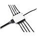 XSPC 8 Way 4-Pin RGB Splitter Hub - White