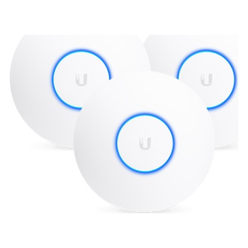 Product image of Ubiquiti NanoHD Unifi Compact 802.11ac Wave2 MU-MIMO Enterprise Access Point 3-Pack (PoE injector not included) - Click for product page of Ubiquiti NanoHD Unifi Compact 802.11ac Wave2 MU-MIMO Enterprise Access Point 3-Pack (PoE injector not included)