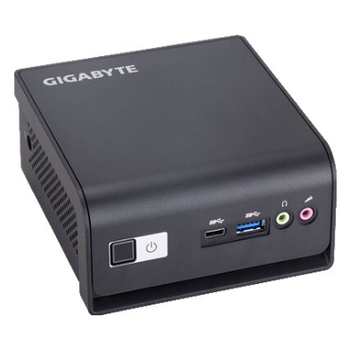 """Product image of Gigabyte Brix Celeron Barebones Mini PC w/2.5"""" Drive Bay - Click for product page of Gigabyte Brix Celeron Barebones Mini PC w/2.5"""" Drive Bay"""