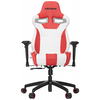 A product image of Vertagear Racing Series S-Line SL4000 Gaming Chair White/Red Edition