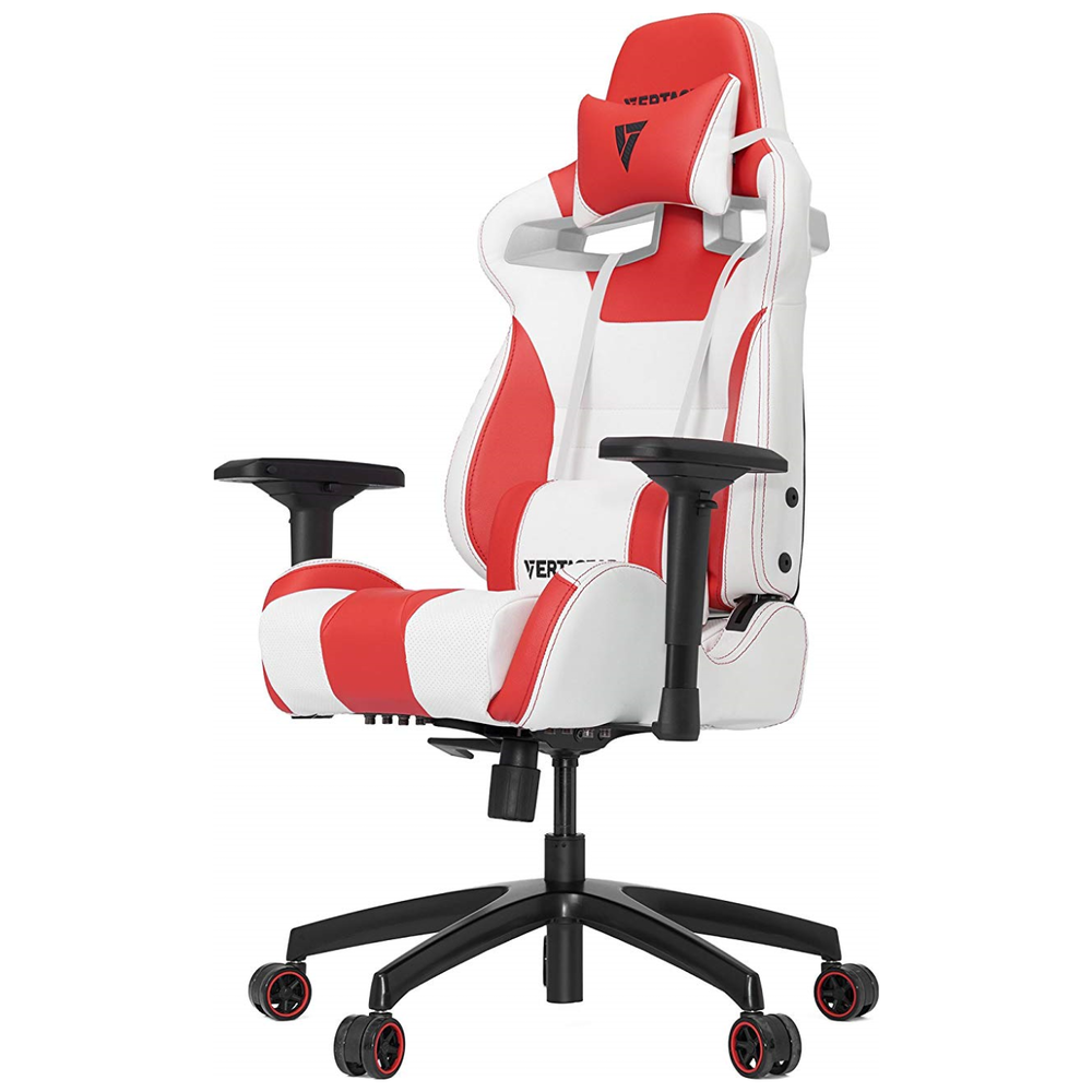 A large main feature product image of Vertagear Racing Series S-Line SL4000 Gaming Chair White/Red Edition