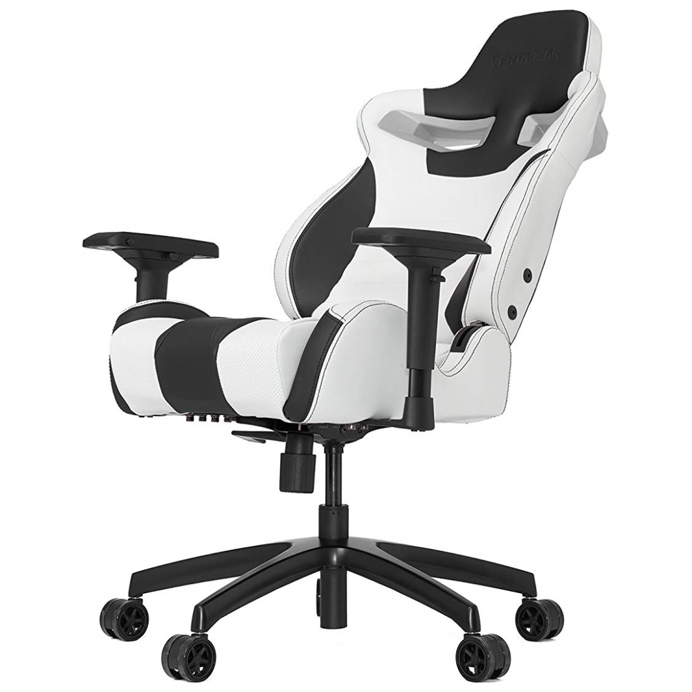 A large main feature product image of Vertagear Racing Series S-Line SL4000 Gaming Chair White/Black Edition