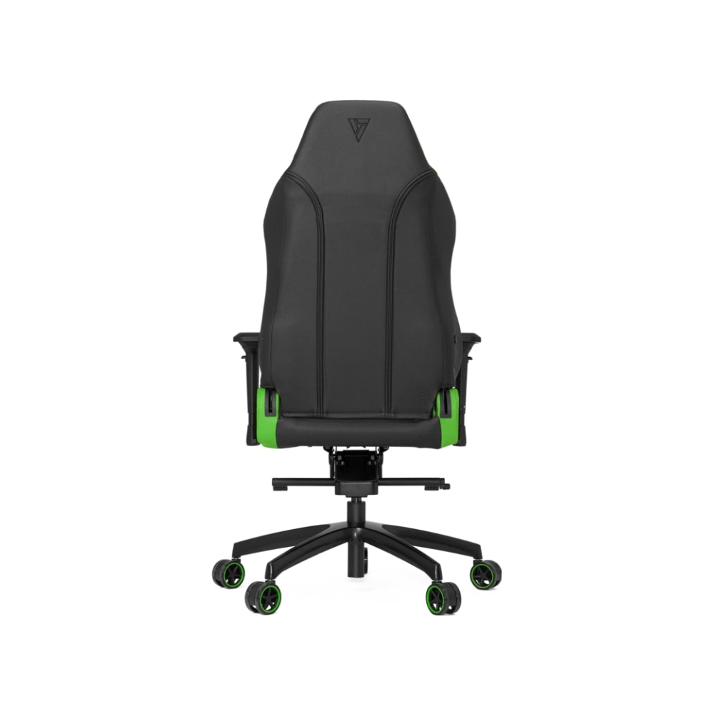 A large main feature product image of Vertagear Racing Series P-Line PL6000 Gaming Chair Black/Green Edition