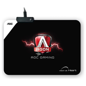 Product image of AOC AGON RGB Cloth Gaming Mouse Pad - Click for product page of AOC AGON RGB Cloth Gaming Mouse Pad