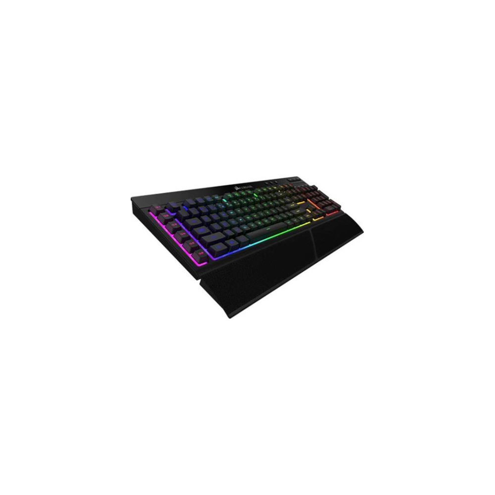A large main feature product image of Corsair Gaming K57 RGB Wireless Keyboard