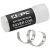 A product image of XSPC Antimicrobial Silver Coil
