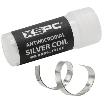 Product image of XSPC Antimicrobial Silver Coil - Click for product page of XSPC Antimicrobial Silver Coil