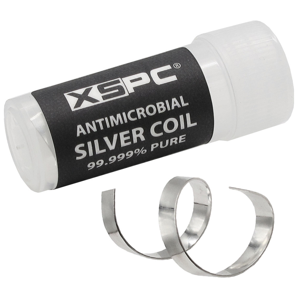 A large main feature product image of XSPC Antimicrobial Silver Coil