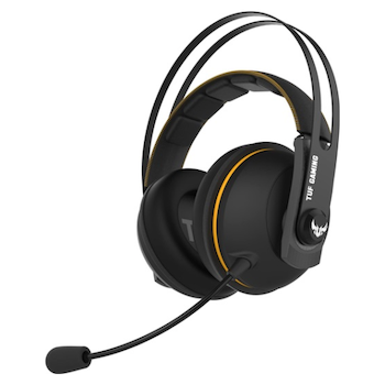 Product image of ASUS TUF Gaming H7 Black/Yellow Wireless Headset - Click for product page of ASUS TUF Gaming H7 Black/Yellow Wireless Headset