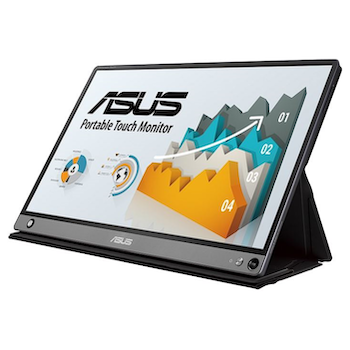 ASUS ZenScreen MB16AMT 15.6 Full HD USB Type-C IPS LED Touch Screen Portable Monitor