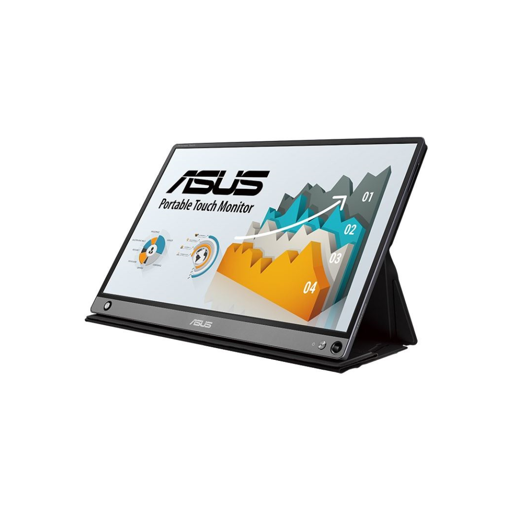 """A large main feature product image of ASUS ZenScreen MB16AMT 15.6"""" Full HD USB Type-C IPS LED Touch Screen Portable Monitor"""