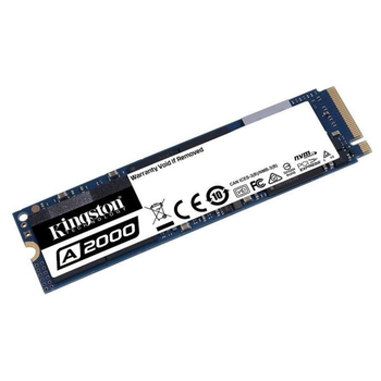 Product image of Kingston A2000 1000GB NVMe M.2 SSD - Click for product page of Kingston A2000 1000GB NVMe M.2 SSD