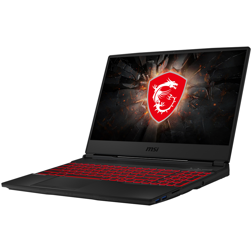 """A large main feature product image of MSI GL65 9SC-001AU 15.6"""" i5 GTX1650 Windows 10 Gaming Notebook"""