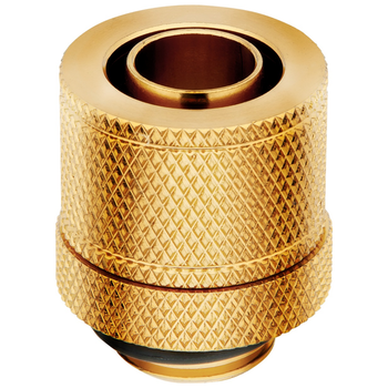 Product image of Corsair Hydro X Series XF SL Gold Compression Fittings (10/13mm) 4 Pack - Click for product page of Corsair Hydro X Series XF SL Gold Compression Fittings (10/13mm) 4 Pack