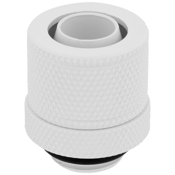 Product image of Corsair Hydro X Series XF SL White Compression Fittings (10/13mm) 4 Pack - Click for product page of Corsair Hydro X Series XF SL White Compression Fittings (10/13mm) 4 Pack