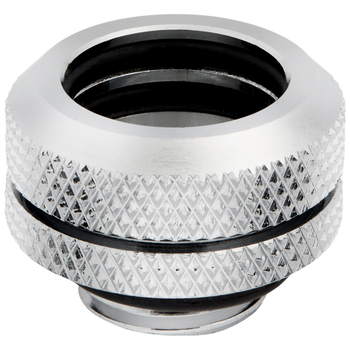 Product image of Corsair Hydro X Series XF HL Chrome Hardline Fittings (14mm OD) 4 Pack - Click for product page of Corsair Hydro X Series XF HL Chrome Hardline Fittings (14mm OD) 4 Pack