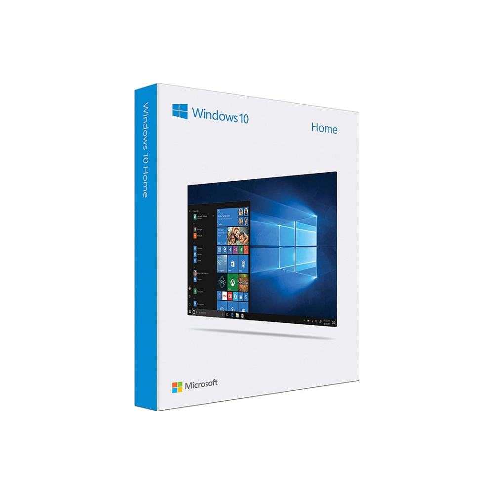 A large main feature product image of Microsoft Windows 10 Home Retail 32/64-Bit Flash Drive