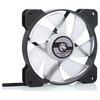 A product image of Bykski 120mm RBW Black/White Cooling Fan (V2)