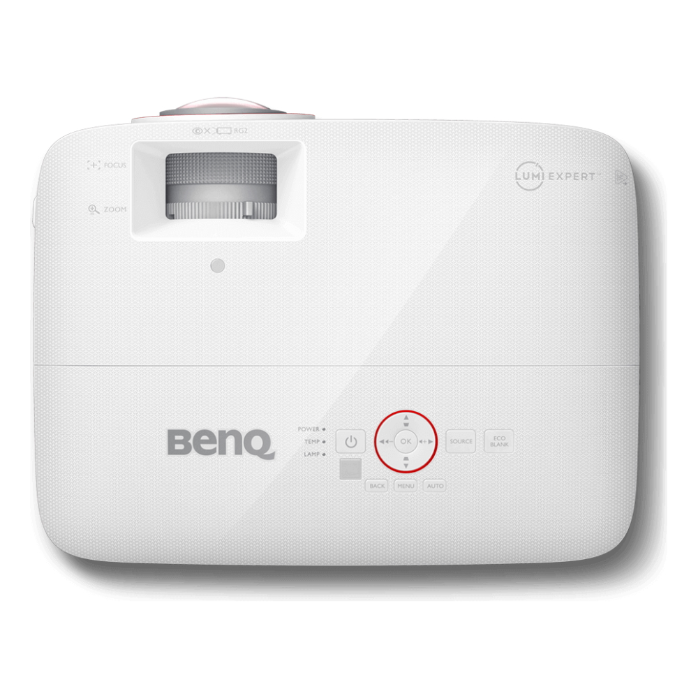 A large main feature product image of BenQ TH671ST 3000LM Full HD Short Throw Projector