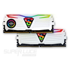 A product image of GeIL 16GB Kit (2x8GB) DDR4 SUPER LUCE RGB SYNC White Edition C19 2666MHz