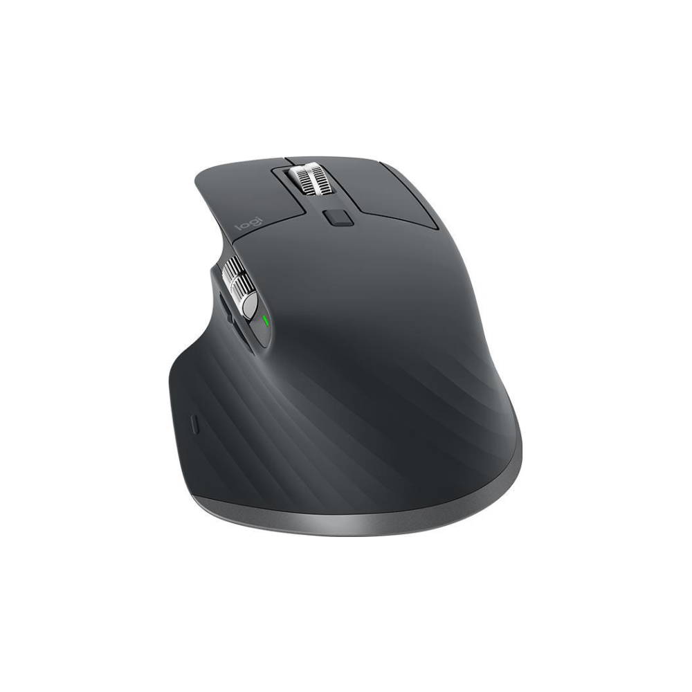 A large main feature product image of Logitech MX Master 3 Advanced Wireless Mouse