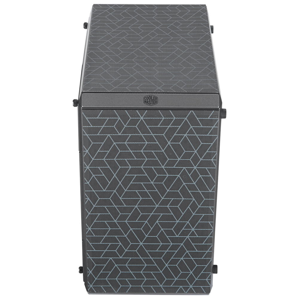 A large main feature product image of Cooler Master Q500L Mid Tower Case w/Acrylic Side Panel