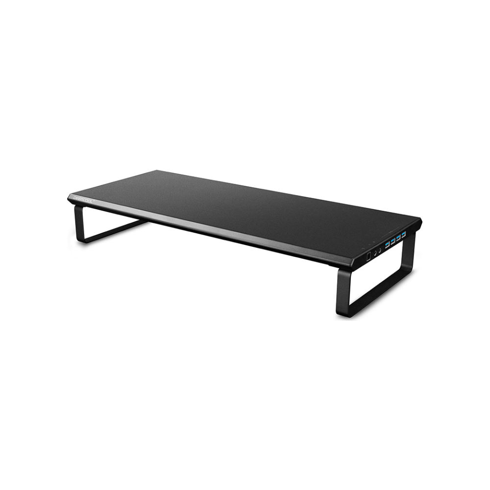 A large main feature product image of Deepcool M-DESK F3 Monitor Stand w/ USB 3.0 Hub