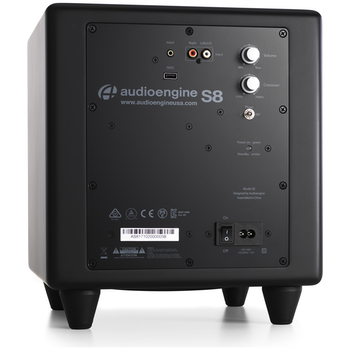 Product image of Audioengine S8 Powered Subwoofer - Satin Black - Click for product page of Audioengine S8 Powered Subwoofer - Satin Black
