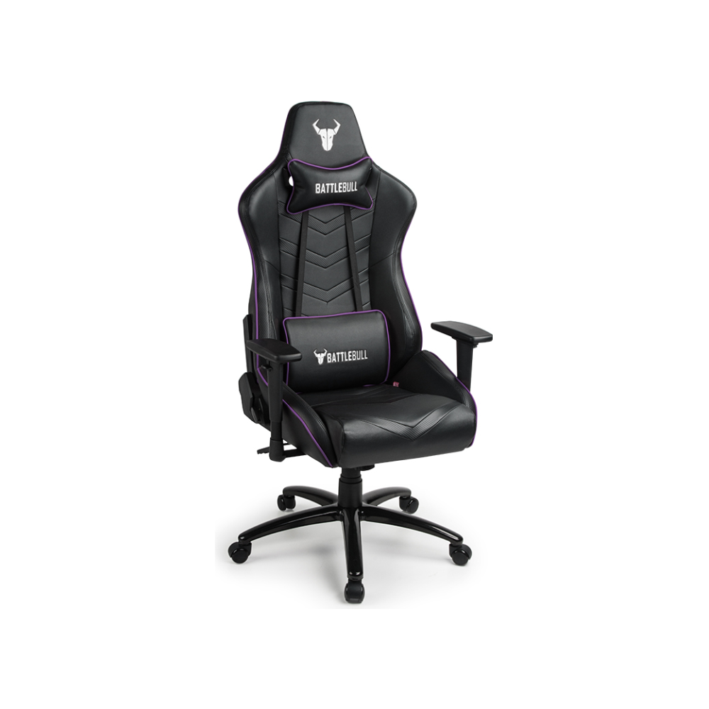 A large main feature product image of BattleBull Diversion Gaming Chair Black/Purple