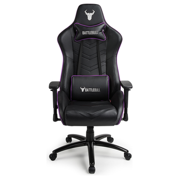 Product image of BattleBull Diversion Gaming Chair Black/Purple - Click for product page of BattleBull Diversion Gaming Chair Black/Purple