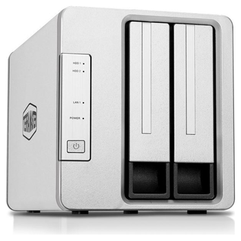 Product image of TerraMaster F2-220 2.41GHz 2GB Dual Bay NAS Enclosure - Click for product page of TerraMaster F2-220 2.41GHz 2GB Dual Bay NAS Enclosure