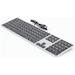 Matias Black/Silver Plastic Keyboard For Mac